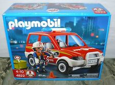PLAYMOBILE FIRE CHIEF 4822