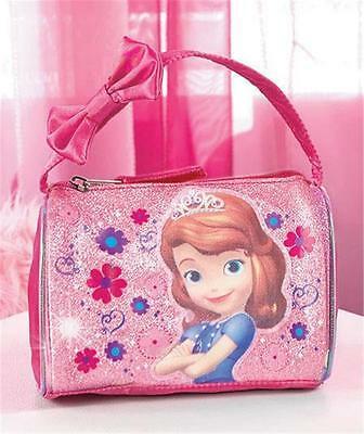 LITTLE GIRLS' DISNEY SOFIA THE FIRST EMBELLISHED BARREL STYLE HANDBAG PURSE