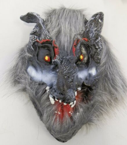 Animal sauvage horreur masques monkey leopard tigre loup diable halloween effrayant masque