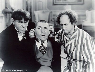 FREE SHIPPING RC15 G CURLY FOR PRESIDENT COMICAL POSTER 3 THREE STOOGES