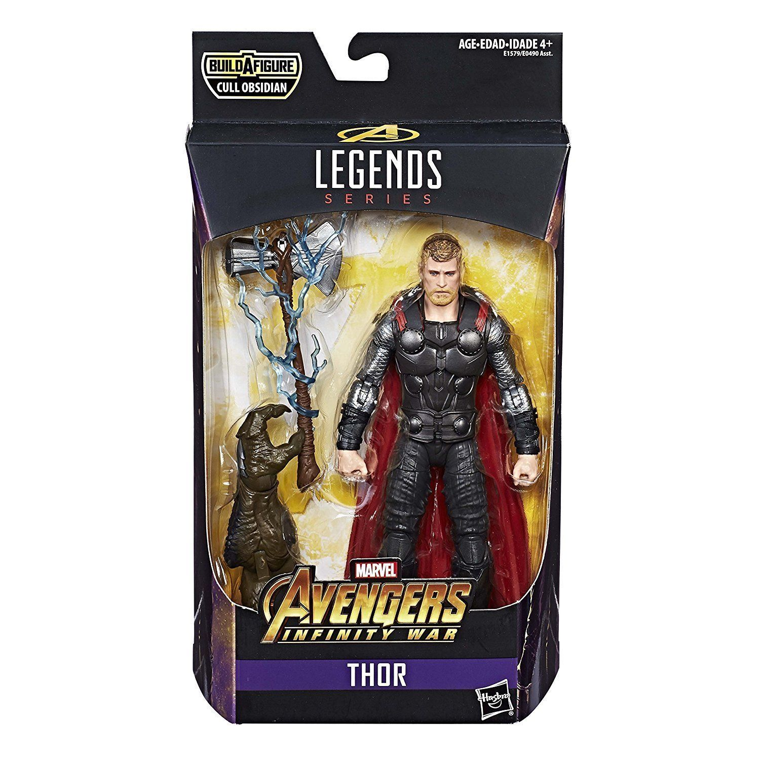 THOR ( 6 ) MARVEL LEGENDS AVENGERS INFINITY WAR OBSIDIAN SERIES ACTION FIGURE