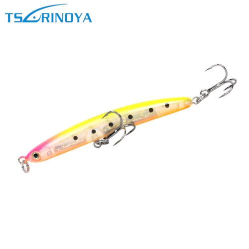 1PC Long Pencil Fishing Lure Diving Bait 60mm5g Hard Artificial Crankbait Tackle