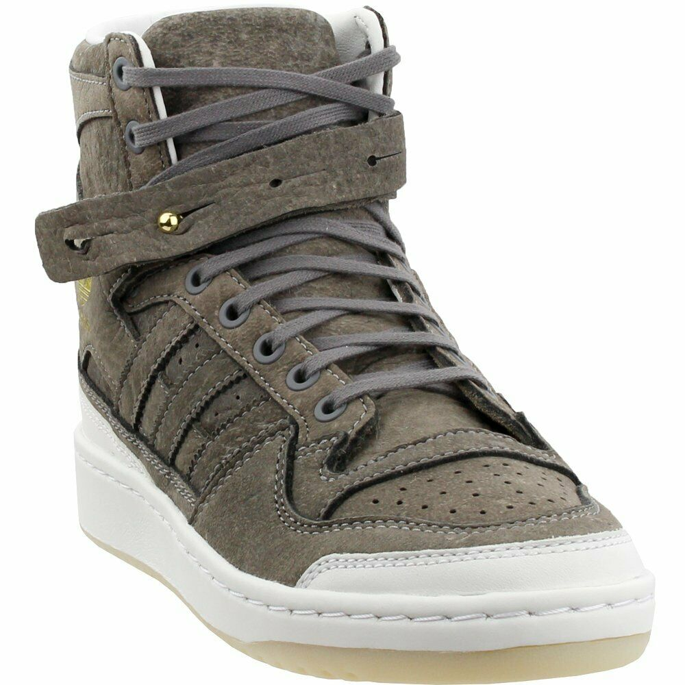7d75a04135e Adidas Forum Hi Crafted - Taupe - Mens Sneakers nypmlq5777-Athletic Shoes