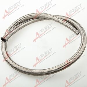 Stainless-Steel-Braided-AN10-AN-10-AN-10-10-Fuel-Line-Gas-Oil-Hose-1M-3-3FT