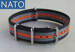 BRACELET-MONTRE-NATO-18mm-nog-chronograph-military-automatic-watch-strap-band