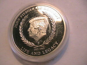 2007-American-Mint-John-Kennedy-Medal-Life-amp-Legacy-Series-Limited-Edition-Proof