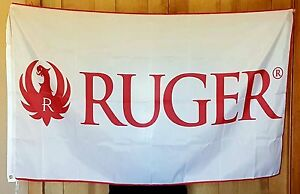 Hunters Man Cave Signs : Ruger flag banner 3x5 ft sniper rifle gun sign hunting man cave