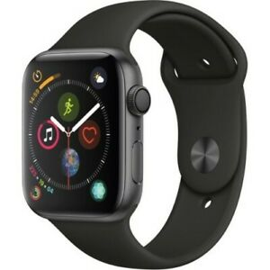 Apple-44mm-Series-4-GPS-Smart-Watch-with-Aluminum-Case-Space-Gray-Black