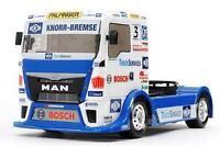 Tamiya Rc Model Kit - Team Hahn Racing Man Tgs Truck - Esc Included - 58632