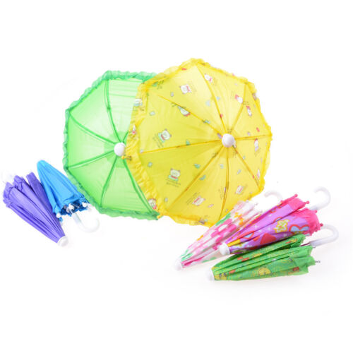 BJD Doll Accessories Umbrella for 16 Inch 18 Inch Doll Toys Girls Christmas G Iw
