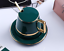 Creative-Drawing-gold-Porcelain-Tea-Cup-and-Saucer-Coffee-Cup-Set-With-Spoon-Lid thumbnail 9