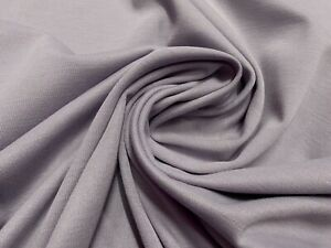 Quality Poly Viscose Ponti Roma Jersey Soft Medium Weight Fabric metre