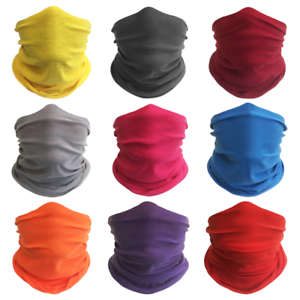 Pack-of-9-Solid-Pure-Face-Mask-Bandanas-2-Headband-Shield-Scarf-Neck-Gaiter