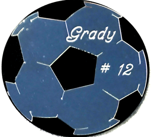Personalized Soccer Ball Wall Plaque Wall Decor Hanging Mirror Ball