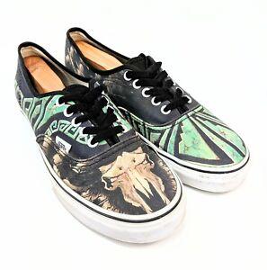 ecbd621c8d Vans Custom Culture Cow Skull Tribe Skate Casual Shoes US 9.5M US ...
