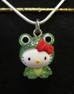 Kawaii-Frog-Necklace-Steel-Chain