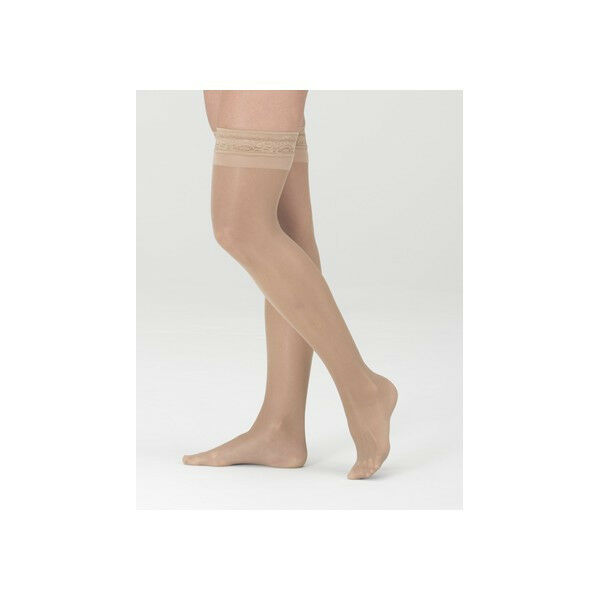 Mediven Comfort 30-40 mmHg Closed Toe Garter Style Thigh Highs Compression