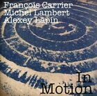In Motion * by Alexey Lapin (Piano)/Fran‡ois Carrier/Michel Lambert (Drums) (CD, Jan-2012, Leo)