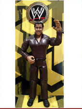 WWE Rocky Johnson Wrestling Hall of Fame Figure The Rock Champion Jakks Ring