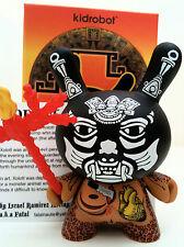 """DUNNY 3"""" AZTECA 2 SERIES IZZIE RAMIREZ BLACK XOLOTL 2/25 KIDROBOT 2011 TOY VINYL"""
