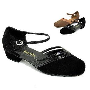 ca0726edd0 Details about Women's Ballroom Salsa Latin Tango Low Heel Dance Shoes 8881  Very Fine Shoes 1