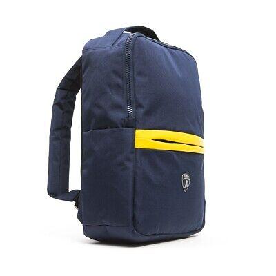 Zaino Lamborghini uomo donna viaggio palestra scuola blu LBZA00034T
