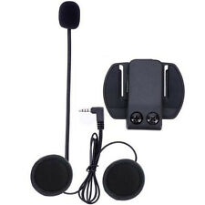 V6 Intercom Acc (Earphone + Clip) Motorcycle Helmet Bluetooth Interphone Headset