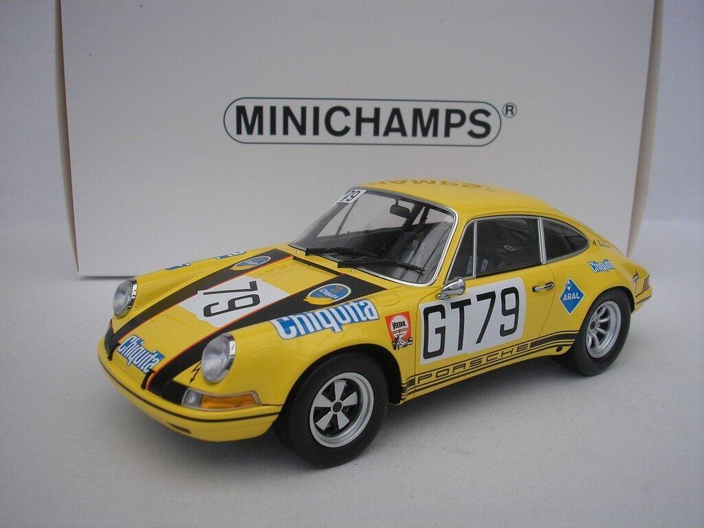 Porsche 911 SKM Nürnburgring 1971 Frölich 1 18 Minichamps 107706879 NEW