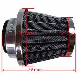 38mm-Air-Filter-POD-Cleaner-For-BIKE-DIRT-ATV-QUAD-PIT-Motorcycle-Honda-Suzuki