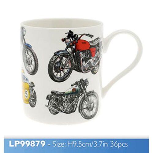 Mens Classic Boxed Mug Motorbike Fine China Leonardo Collection Motor Bike Gift