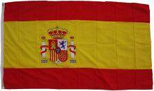 XXL Flagge Spanien 250 x 150 cm mit 3 Messing Ösen WM  Hissflagge Fahne Fahnen