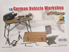 "Dragon Cyber Hobby 1/6 Scale 12"" WWII German Vehicle Workshop Set #71240"