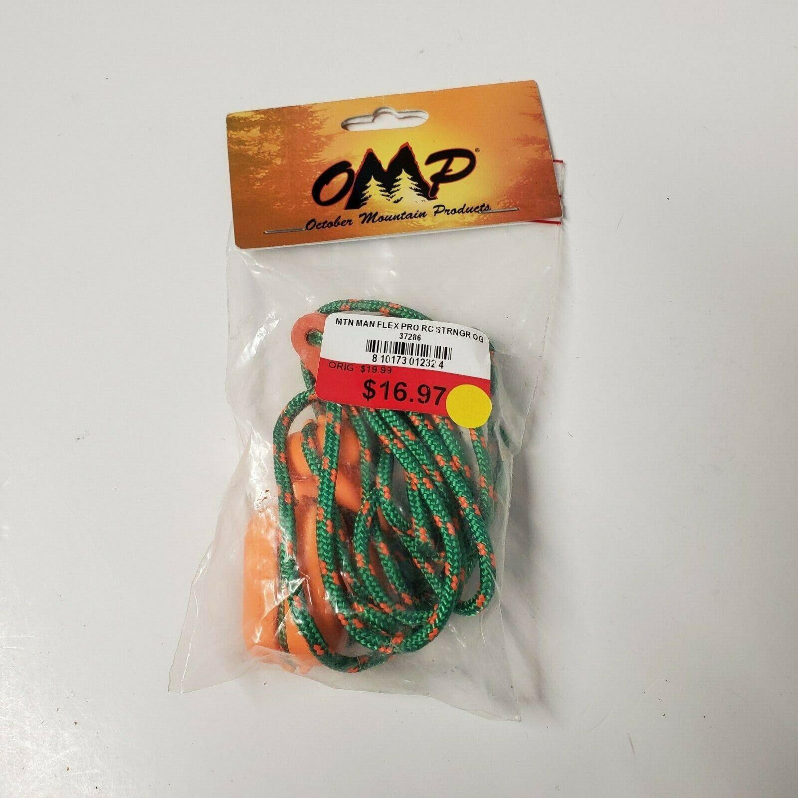 OMP Flex Pro Longbow Stringer Traditional Archery Orange 37372