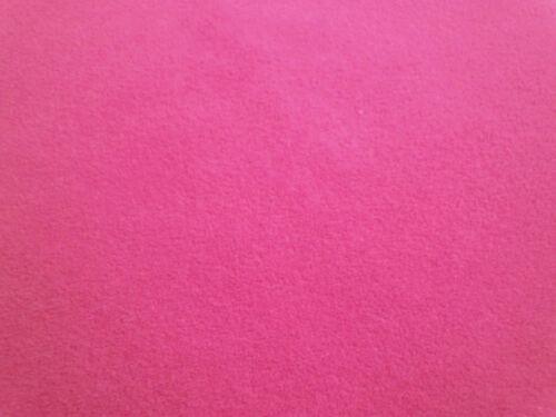 mb56n Fuschia Pink Plain Round Velvet Style Cushion Cover//Pillow Case*Custom Siz