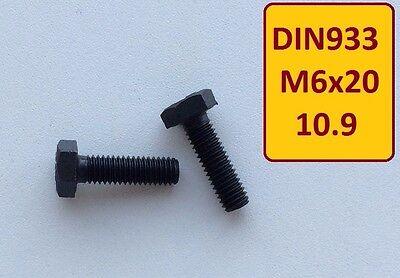 1 Stück Schraube DIN 912 M10x40 10.9 hochfest schwarz