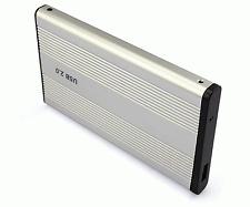 "New Enclosure Aluminum Case 44 PIN IDE 2.5"" to USB Adapter Hard Disk Drive #378"