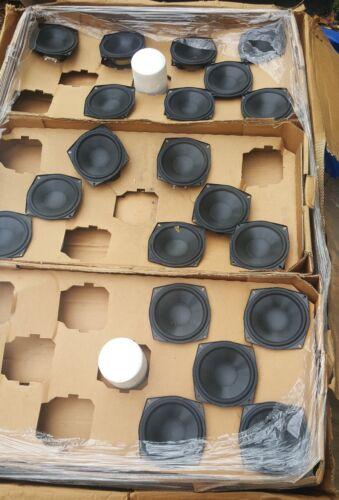 NEW 2 lot Peerless midrange woofer speaker truck car audio Made In Denmark