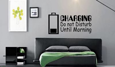 Charging Do not Disturb Style 2 PS4 XBOX ONE Gaming Vinyl wall art Decal Sticker
