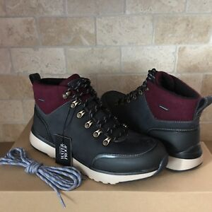 c9470cee593 Details about UGG OLIVERT NAVY WATERPROOF LEATHER WOOL HIKER SNOW BOOTS  SHOES SIZE 11.5 MENS