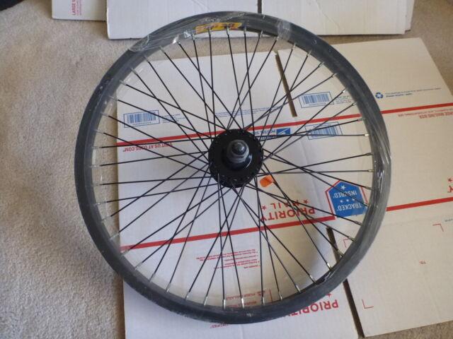 "20/"" FRONT WEINMANN ALUMINUM BMX BICYCLE RIM BIKE PARTS B313"