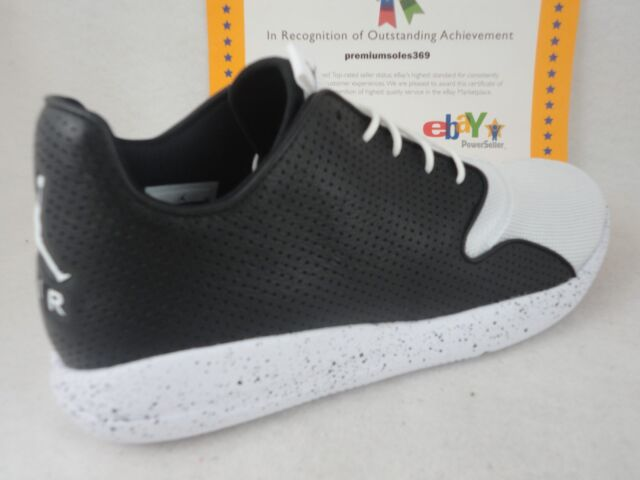 info for 43968 d4220 Nike Jordan Eclipse off Court Shoes Mens 9 Black White 724010 020 ...