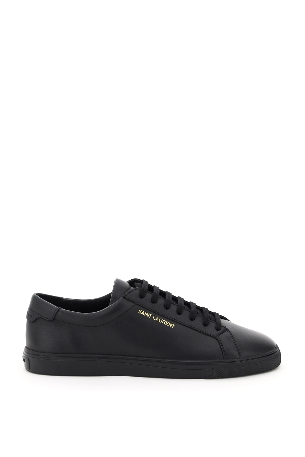 NEW Saint laurent antdy leather sneakers 606833 0ZS00 Black AUTHENTIC NWT