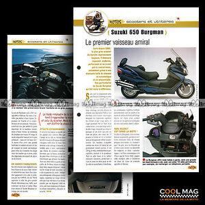 jbt12-006-SUZUKI-650-BURGMAN-EXECUTIVE-Mod-2005-Fiche-Moto-Motorcycle-Card