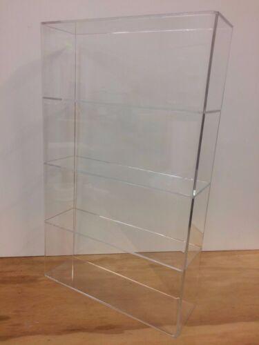 "Acrylic Lucite Countertop Display Case ShowCase Box Cabinet 14/"" x 4 1//4/"" x 24/""h"