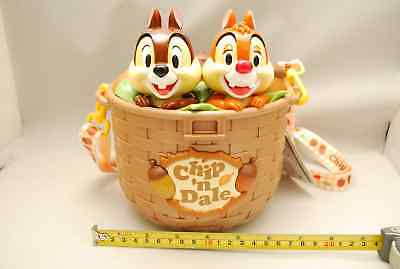 Chip and Dale popcorn bucket chip /& Dale basket Tokyo Disney Limited F//S
