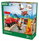 33815 BRIO Rescue Fire Fighter Set (wooden Railway) Age 3 Years