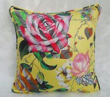 "Designers Guild Fabric Cushion Cover 'MALMAISON' Jonquil - 100% Cotton - 18"""