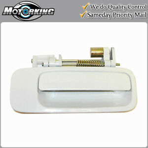 Exterior Door Handle Rear Right for 1997-2001 Toyota Camry 040 White