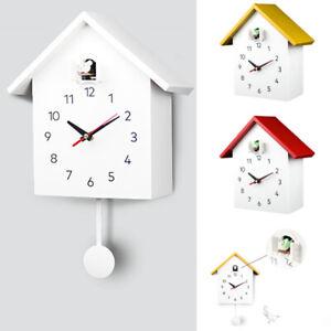 Cuckoo-Quartz-Clock-Modern-Bird-Hanging-Watch-Decoration-Alarm-Clocks-Home-NEW