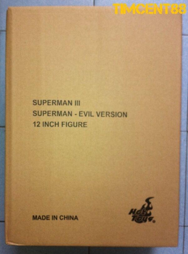 Hot Juguetes MMS207 versión malvada de súperman 1978 Christopher Reeve 1 6 figura abrir nuevas